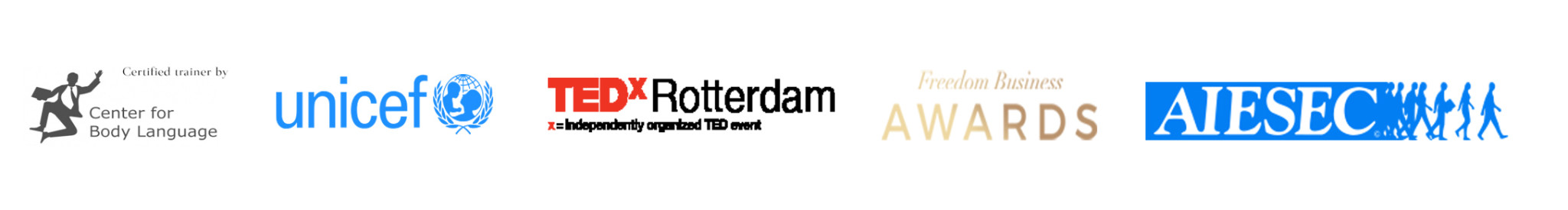 Why Not 3 has been featued in AISEC, Freedom Business Awards, TEDx Rotterdam, and Unicef